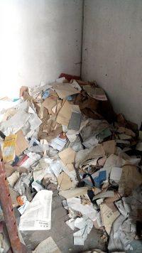 Evacuation gravats papier DIB (Déchet industriel banal), Chantier sur Cognin,
