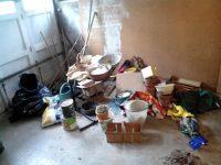 Evacuation maison garage Chambery