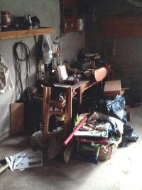 Evacuation garage Chantier sur Chambery