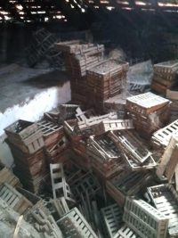 Evacuation Grenier cajots de 120 m2 environs. Aix les bains